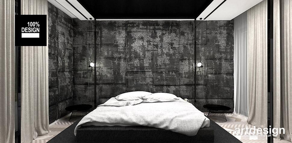 aranżacje wnętrz sypialni