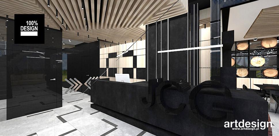 projekt recepcji biuro