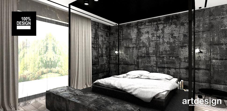 sypialnia design wnętrz