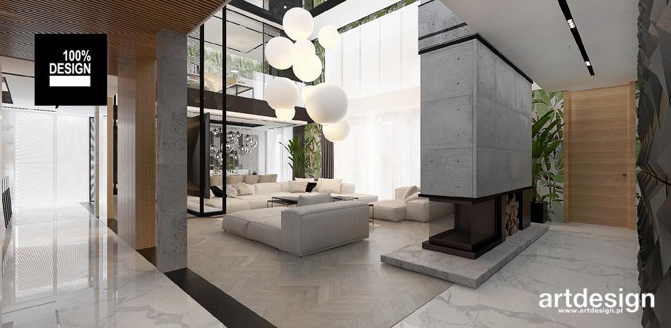 architektura wnętrz dom