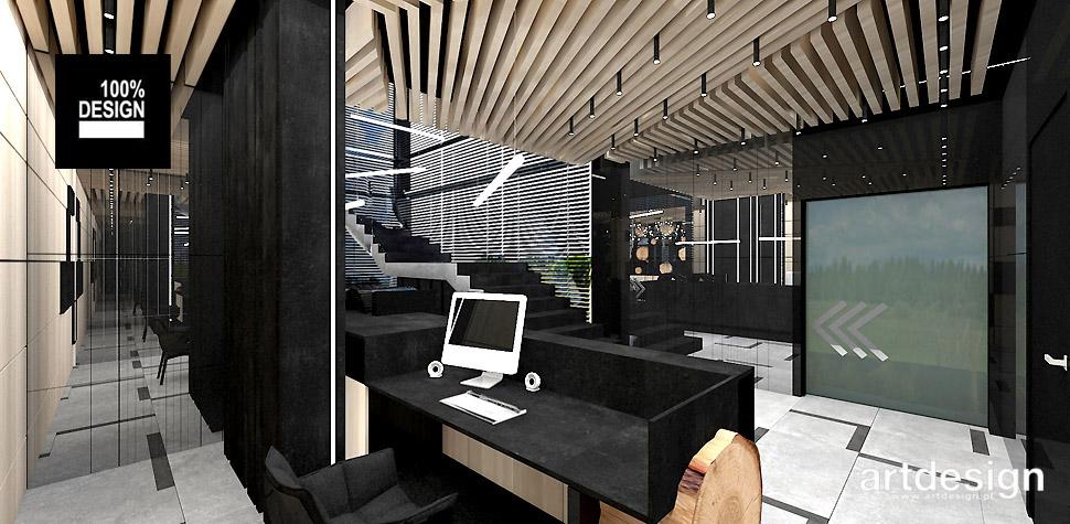 nowoczesne biuro aranzacja wnetrz