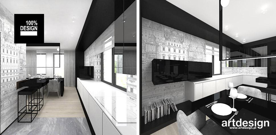 projektowanie wnętrz wizualizacje kuchni