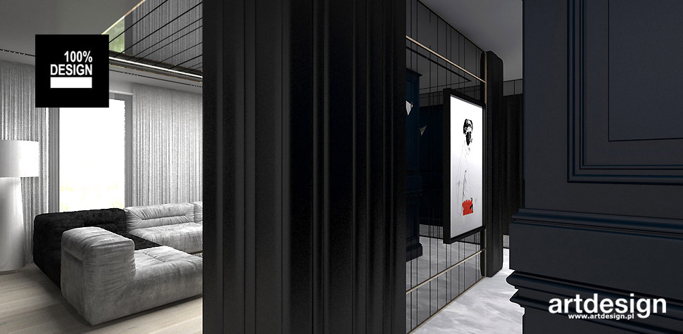 nowoczesne wnętrze apartamentu