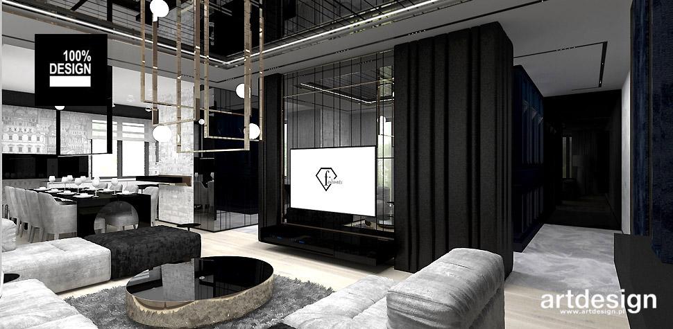luksusowa aranżacja apartamentu