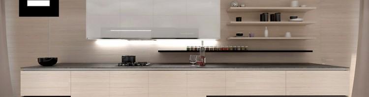 wnętrza nowoczesnej kuchni