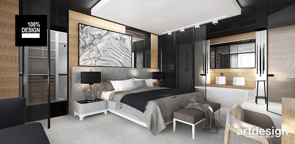 aranżacja sypialni wnętrza