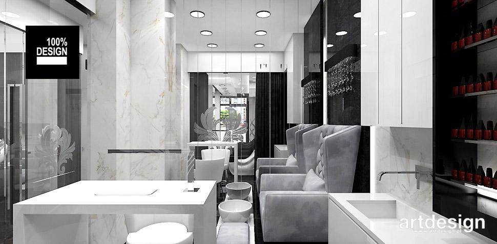 salony kosmetyczne wnętrza