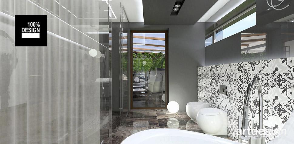 wizualizacja łazienki aranżacja wnętrza