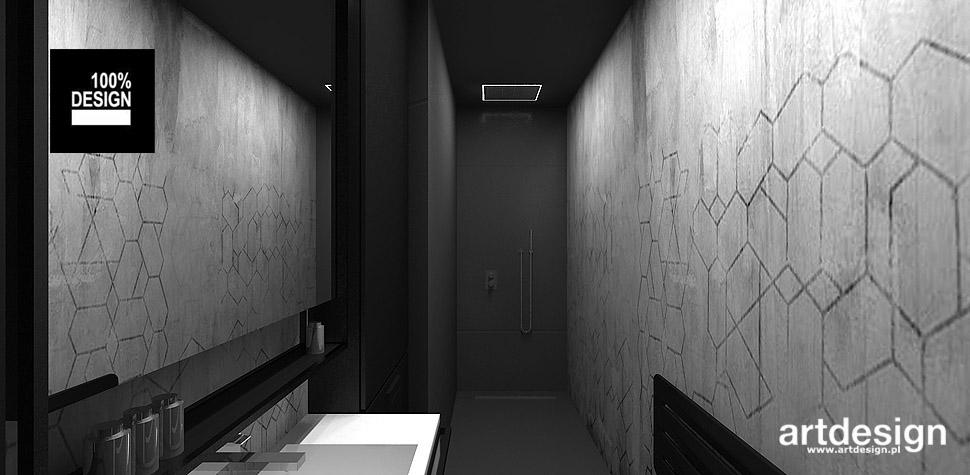 wnętrza aranżacje łazienek
