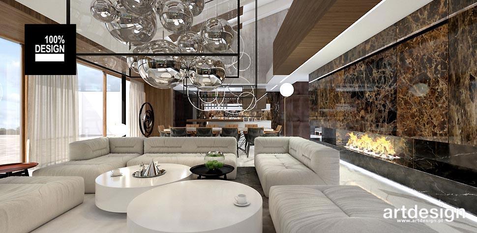 nowoczesny salon projekty