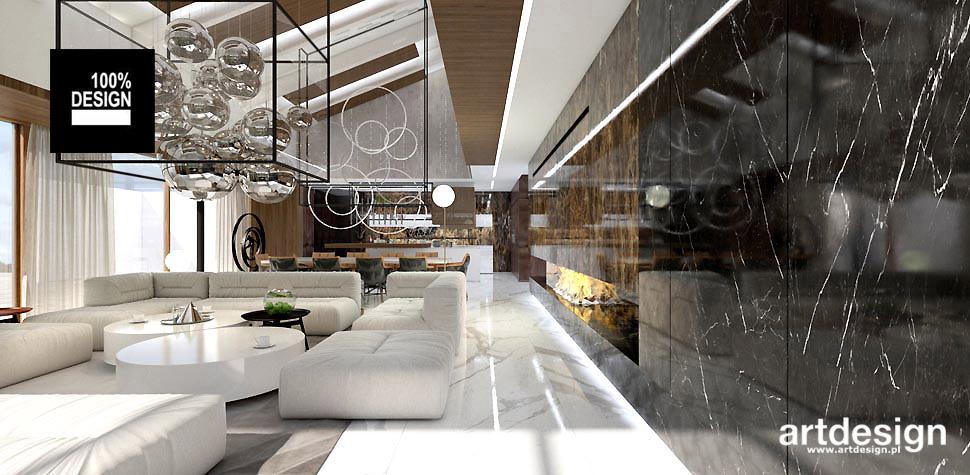 projektowanie wnętrz luksusowych domów