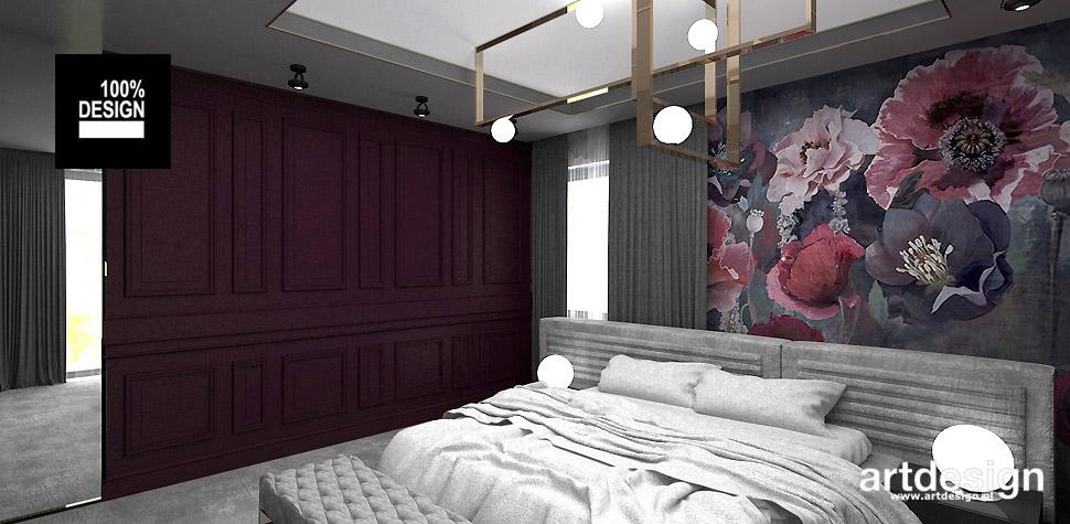 aranżacja sypialni wnętrz