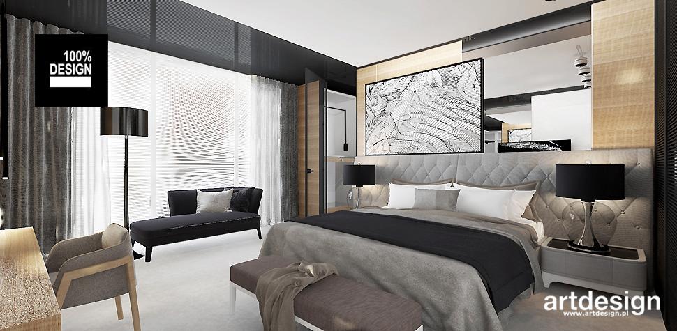projekty sypialni design