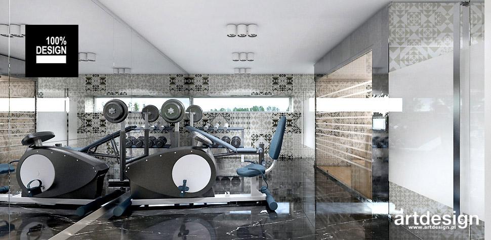 fitness siłownia w domu