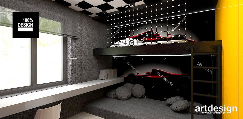pokój dla chłopca wnętrza
