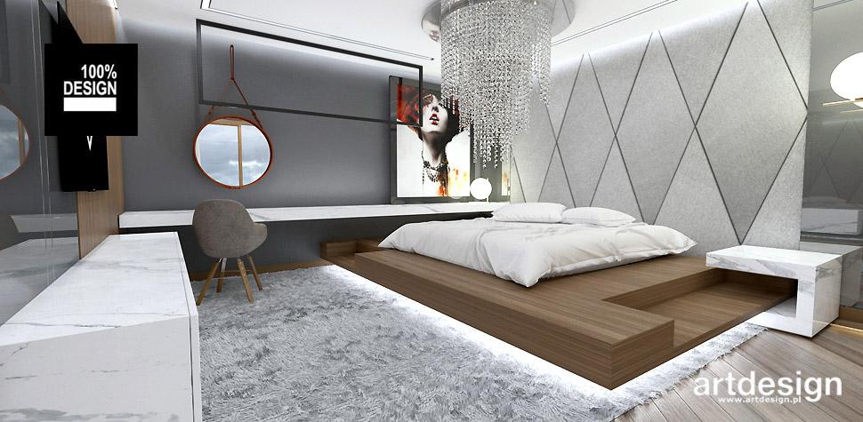 aranżacja sypialni wnętrze