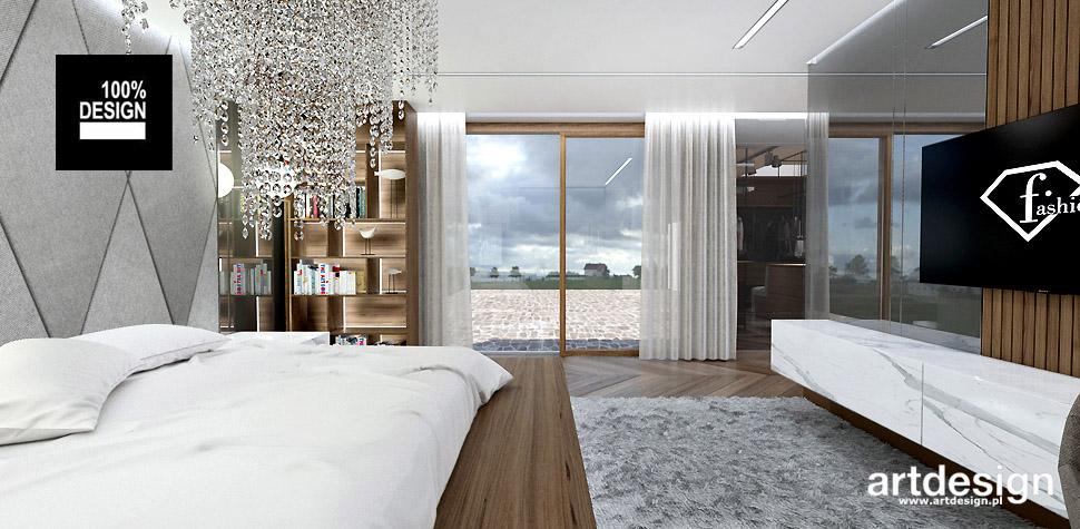 nowoczesne wnętrza sypialnia
