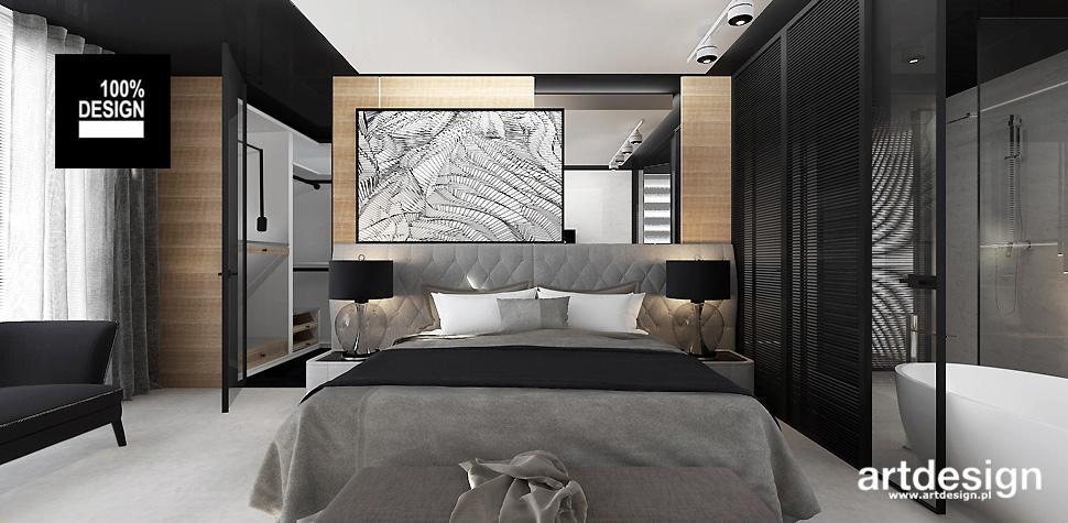 przytulna sypialnia wnętrza