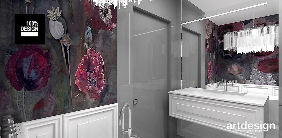 projekt łazienki wnętrze