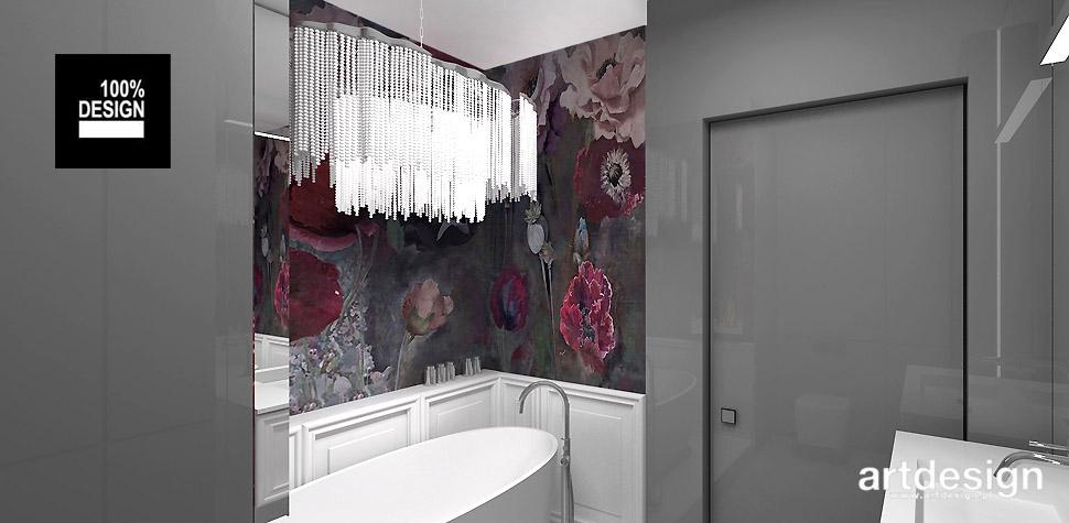 projektowanie łazienek wnętrz