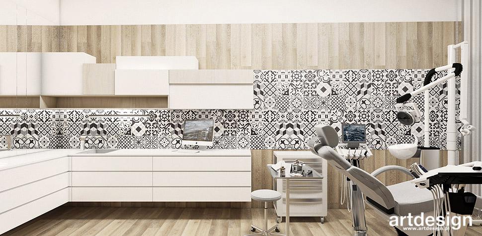 projekty wnętrz gabinet stomatologiczny