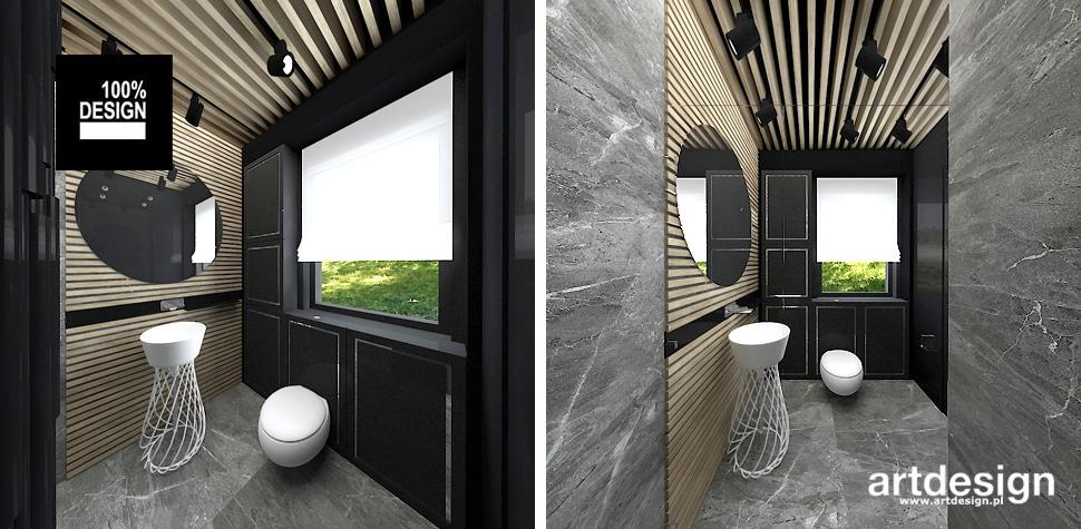 designerska łazienka projektowanie wnętrz