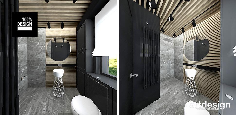 projekt łazienki inspiracje wnętrza