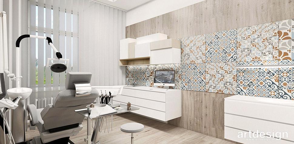 designerskie wnętrza projekty klinika centrum medyczne