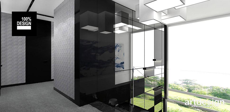 architektura wnętrz nowoczesny dom
