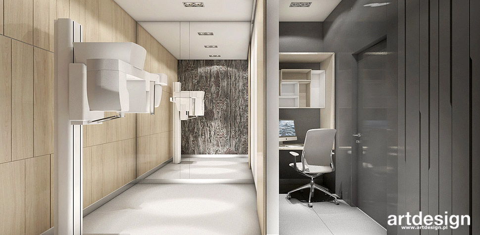projektowanie wnętrz gabinet stomatologiczny