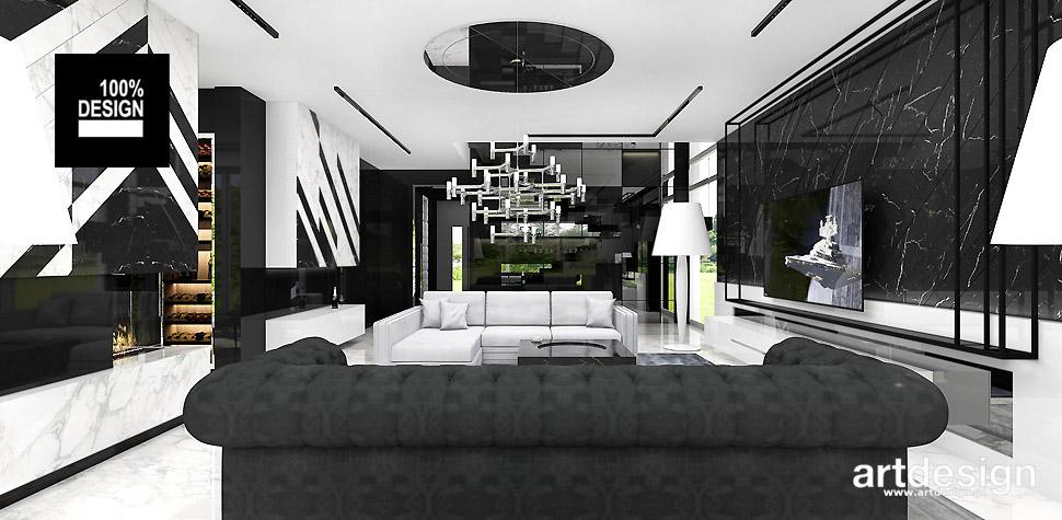 architektura wnętrz projekty salonu
