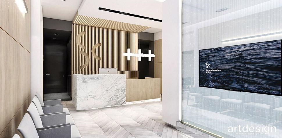 gabinet stomatologiczny projekty wnętrz