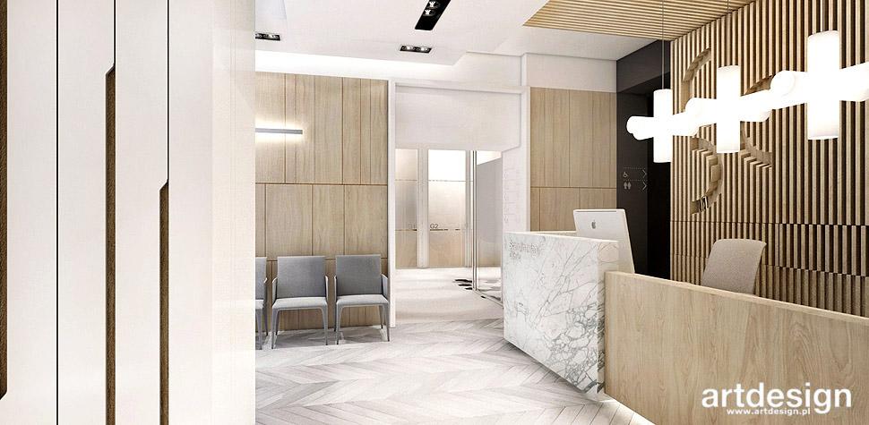 projektowanie wnetrz klinika medycyny estetycznej