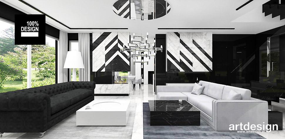 salon wnętrze eklektyczne