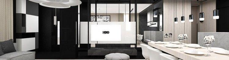 nowoczesny apartament aranżacja