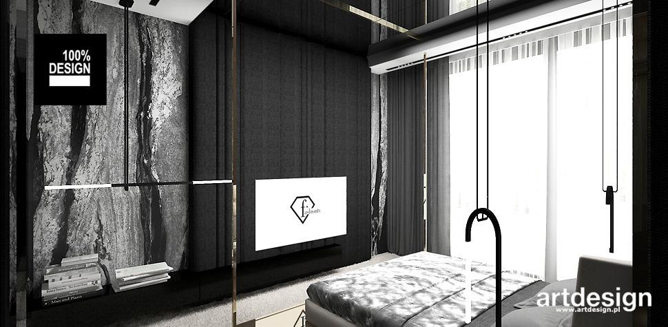 projekt nowoczesnej sypialni