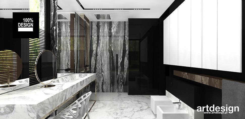 projekt wnętrz domu łazienka