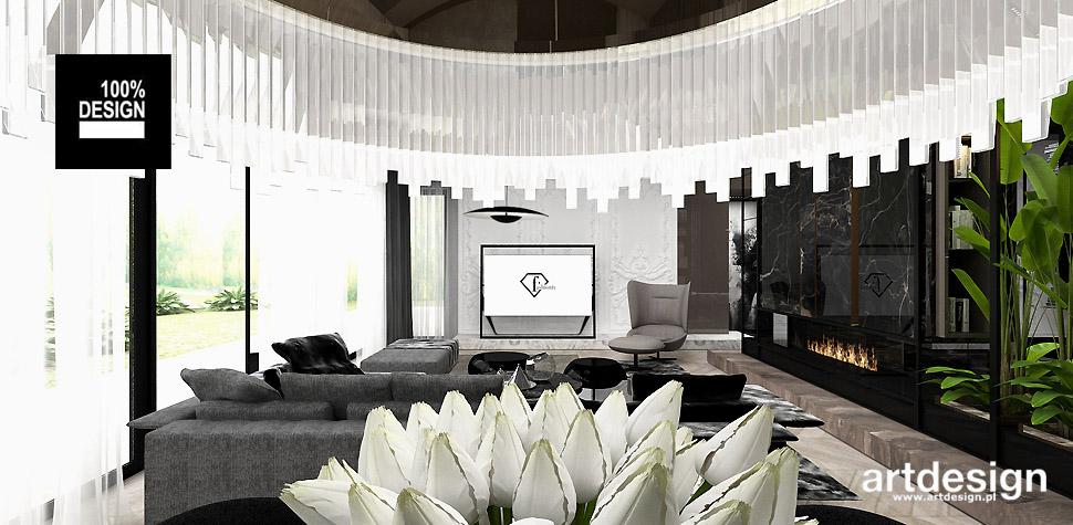 aranżacja salon wnętrza styl eklektyczny
