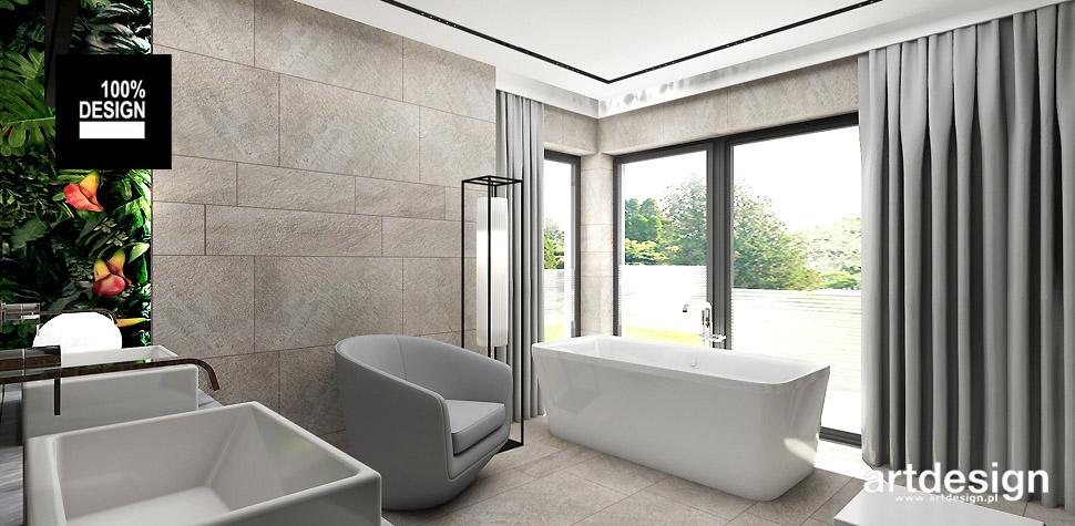 nowoczesny design łazienka