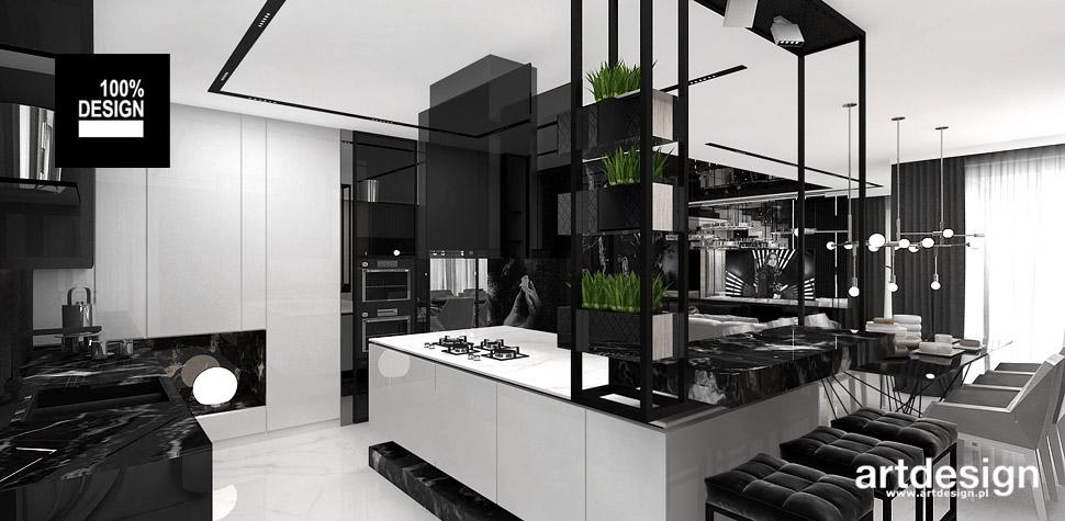wyspa w kuchni projekt mebli