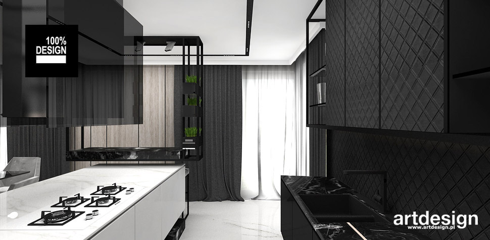 elegancka kuchnia projekty