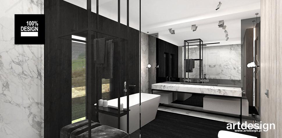design wnętrz łazienka