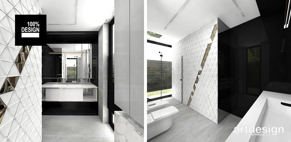 designerskie wnętrze łazienki