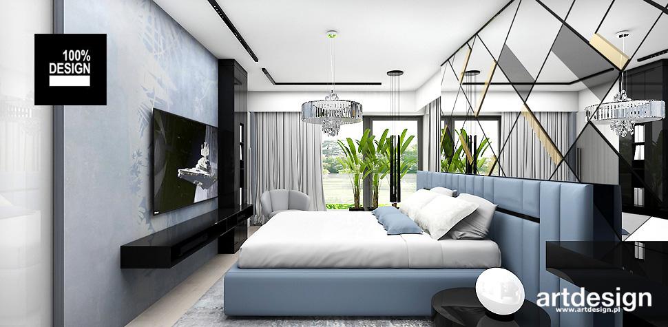 projekty sypialni inspiracje