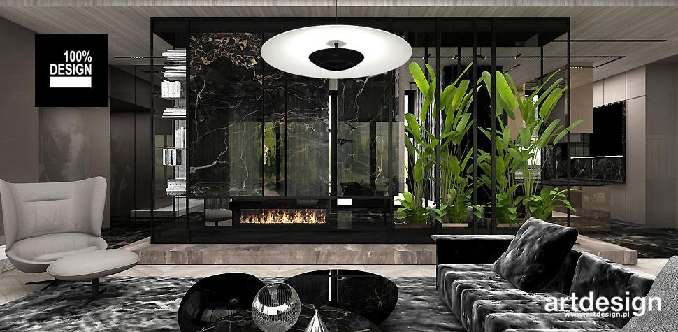 luksusowe wnętrza aranżacje projekty