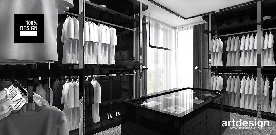 nowoczesny dom z garderoba