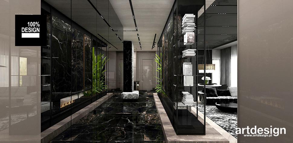 luksusowe aranżacje wnętrz domów
