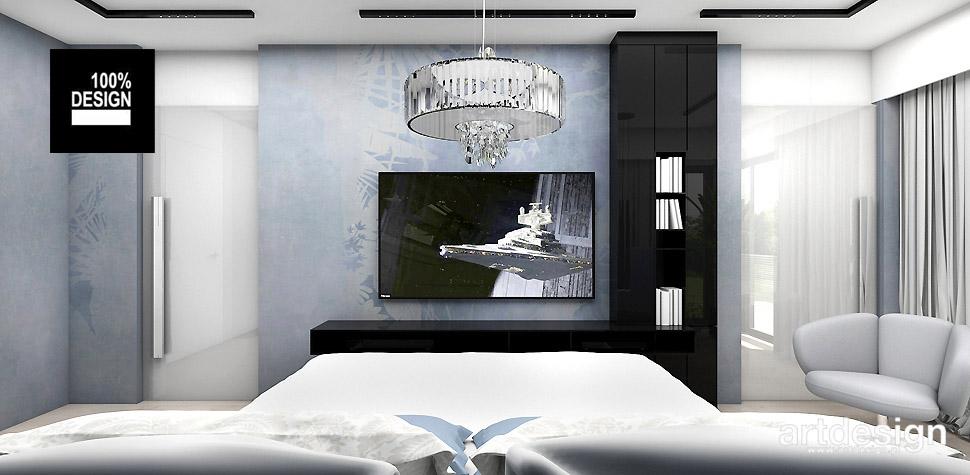 nowoczesna sypialnia projektant wnętrz