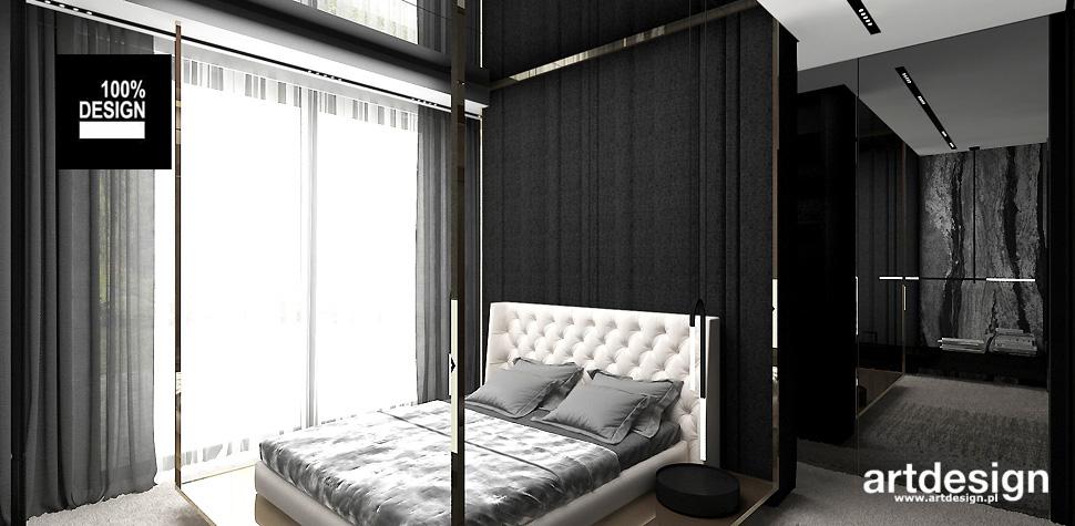luksusowa aranżacja sypialnia
