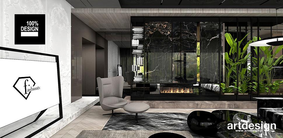 designerskie wnętrza domów aranżacje